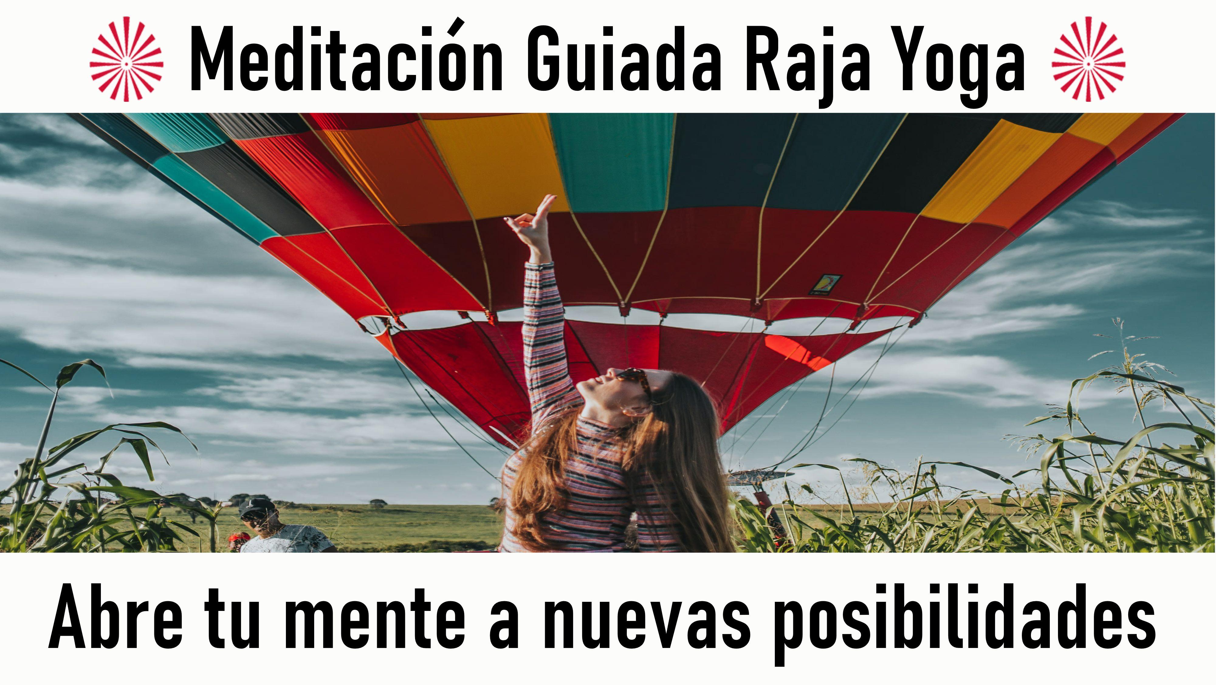 Meditación Raja Yoga: Abre tu mente a nuevas posibilidades (11 Septiembre 2020) On-line desde Madrid