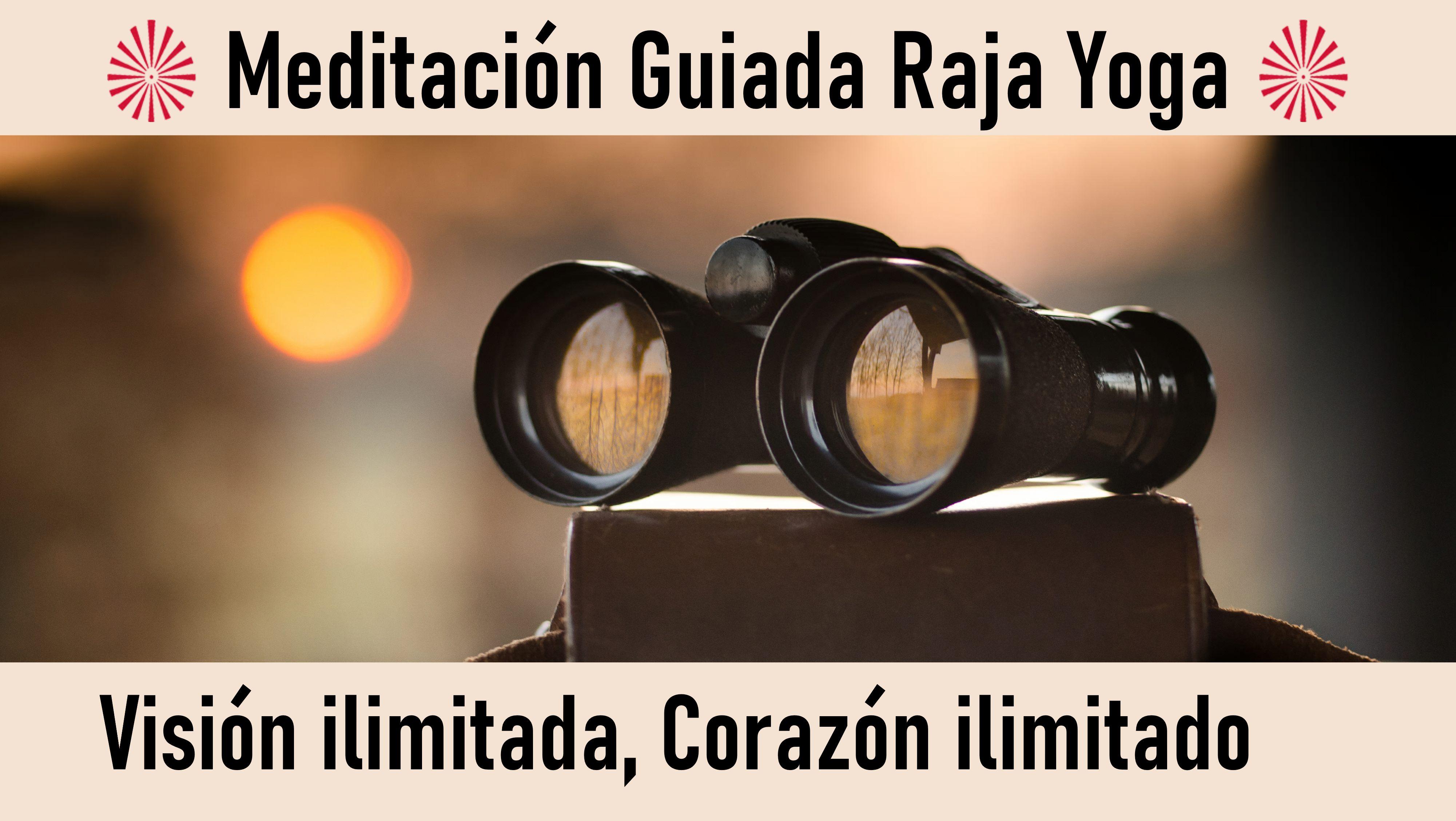 Meditación Raja Yoga: Visión ilimitada, Corazón ilimitado (4 Octubre 2020) On-line desde Valencia
