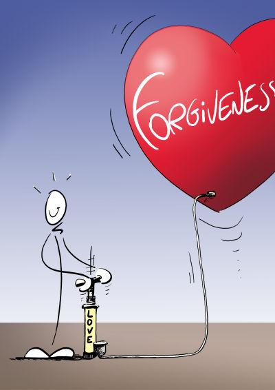 The Steps to Forgiveness