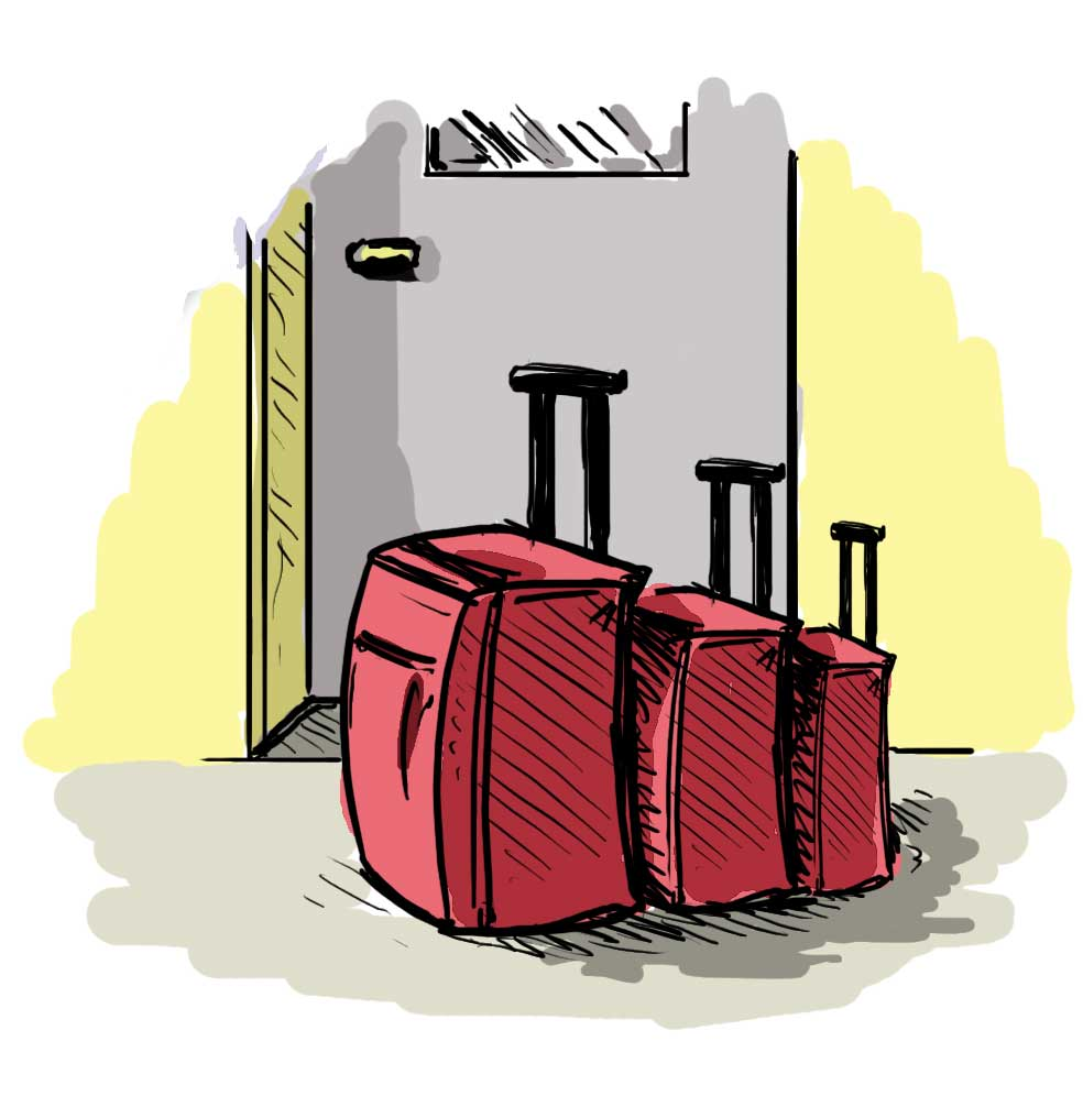 Pack Up and Let Go...The power to pack-up…