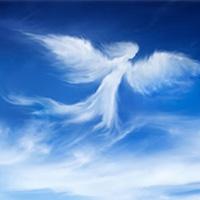 El ser que se convierte en ángel