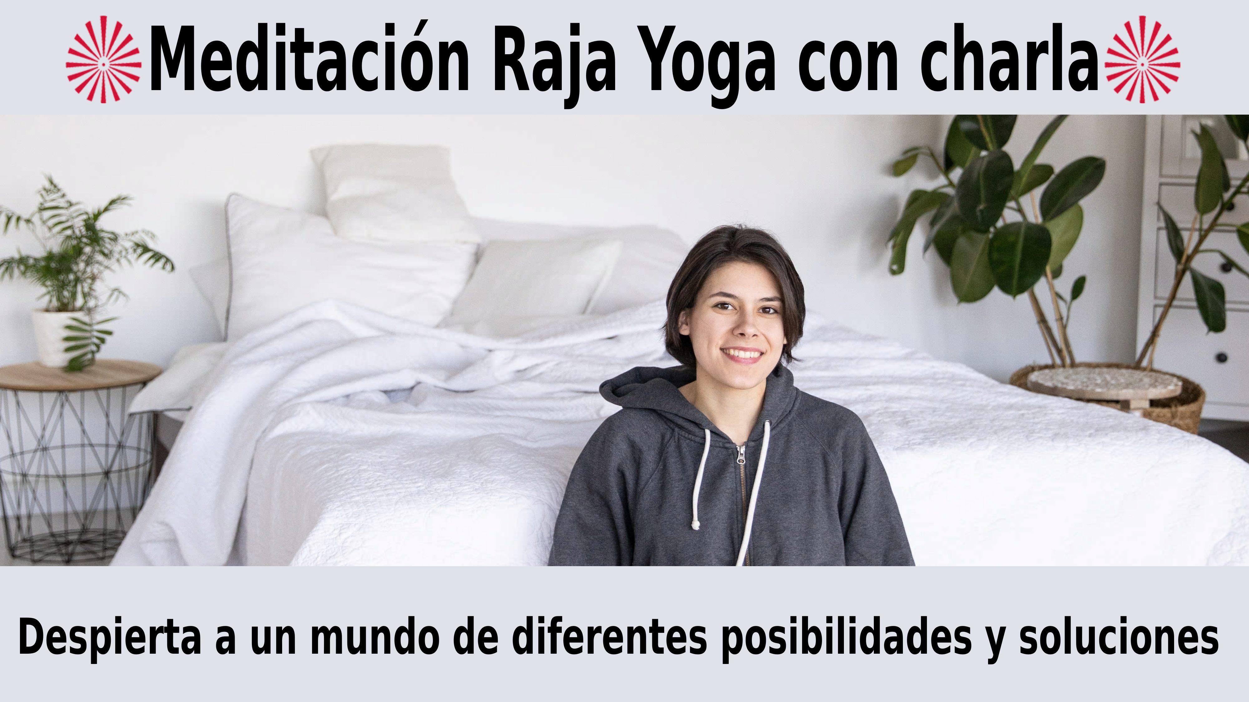 Meditación con charla: Despierta a un mundo de diferentes posibilidades y soluciones (19 Noviembre 2020) On-line desde Barcelona