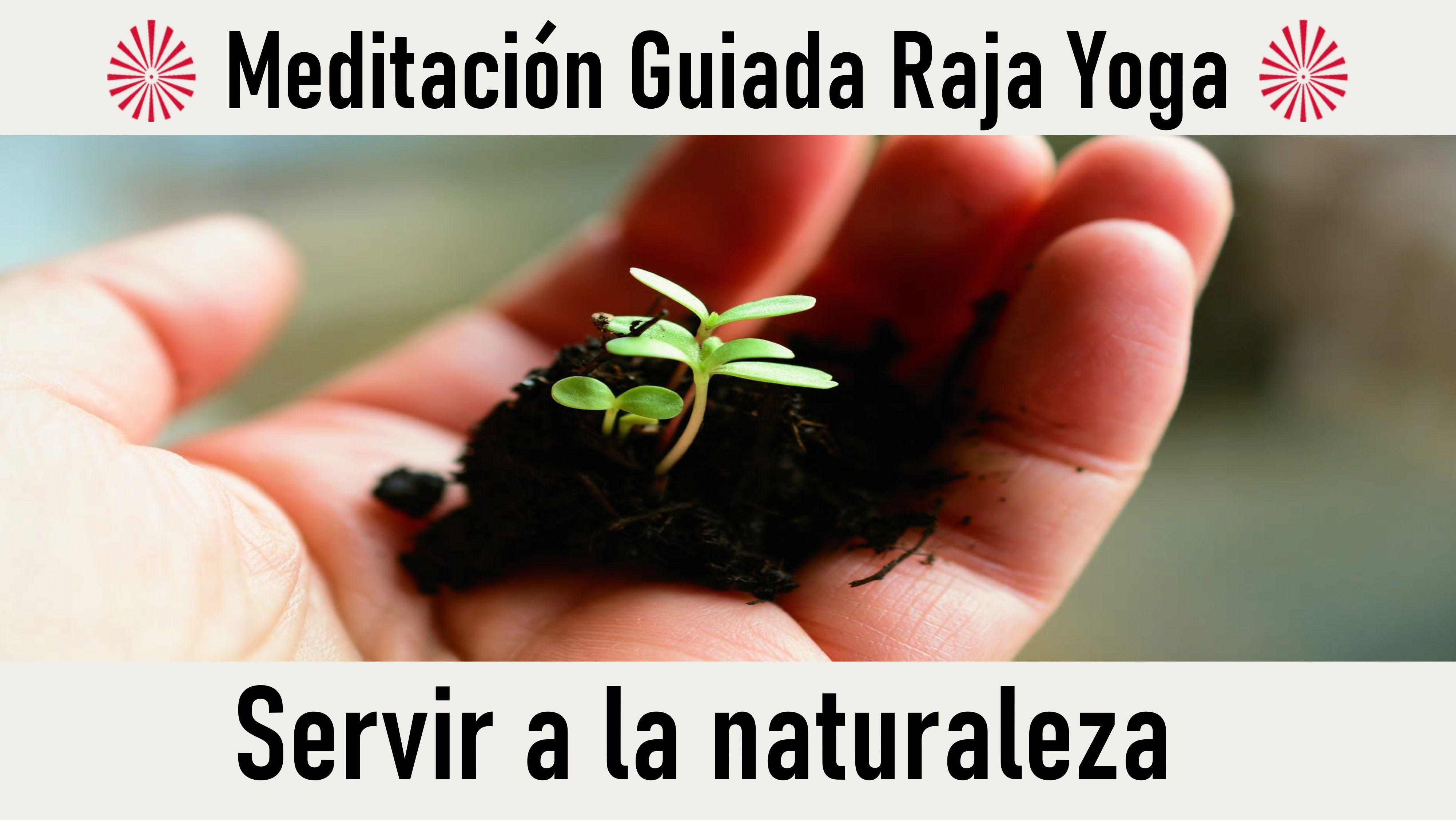 Meditación Raja Yoga:   Servir a la naturaleza (22 Octubre 2020) On-line desde Madrid