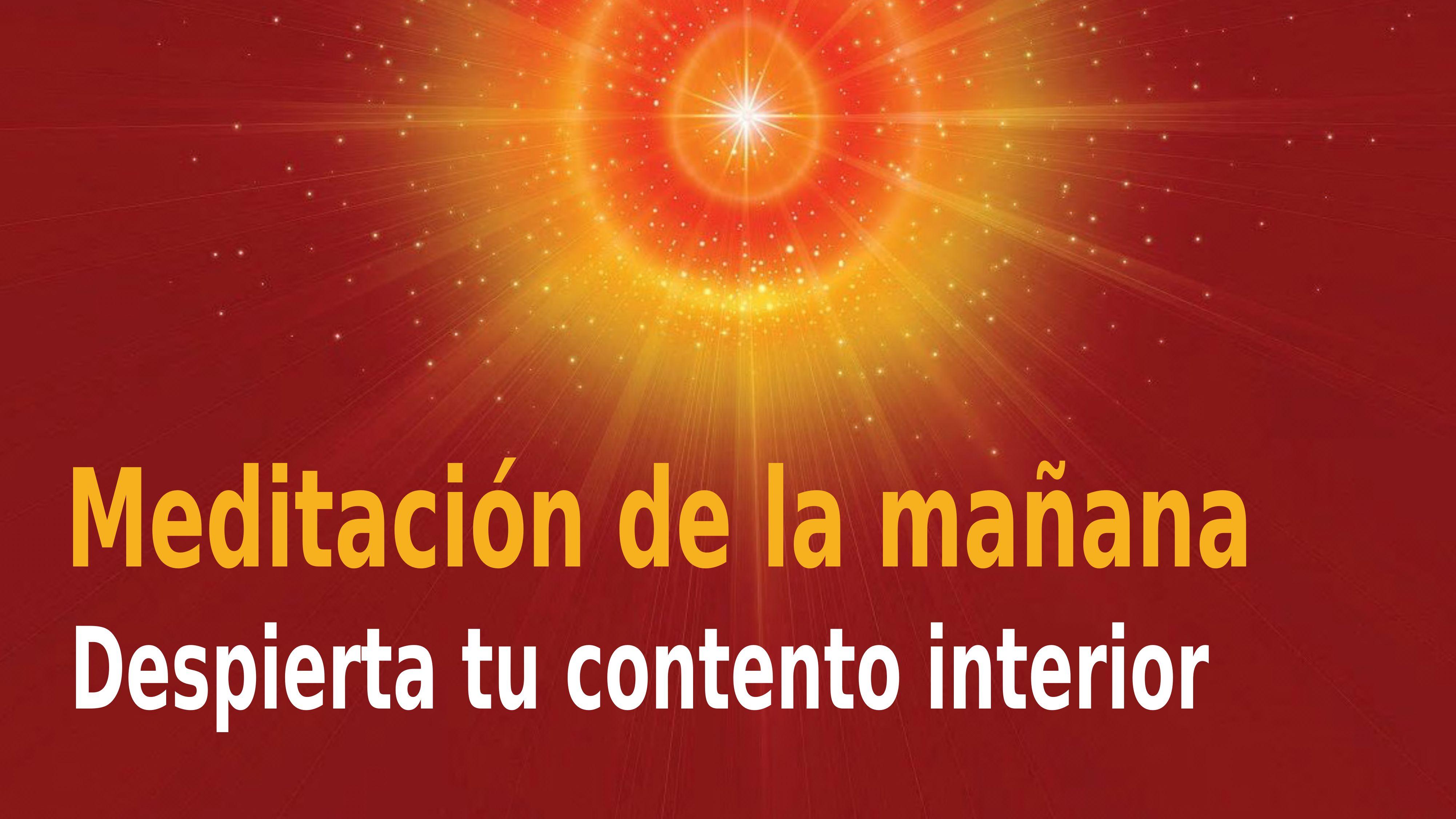 Meditación de la mañana Raja Yoga:  Despierta tu contento interior (20 Noviembre 2020)