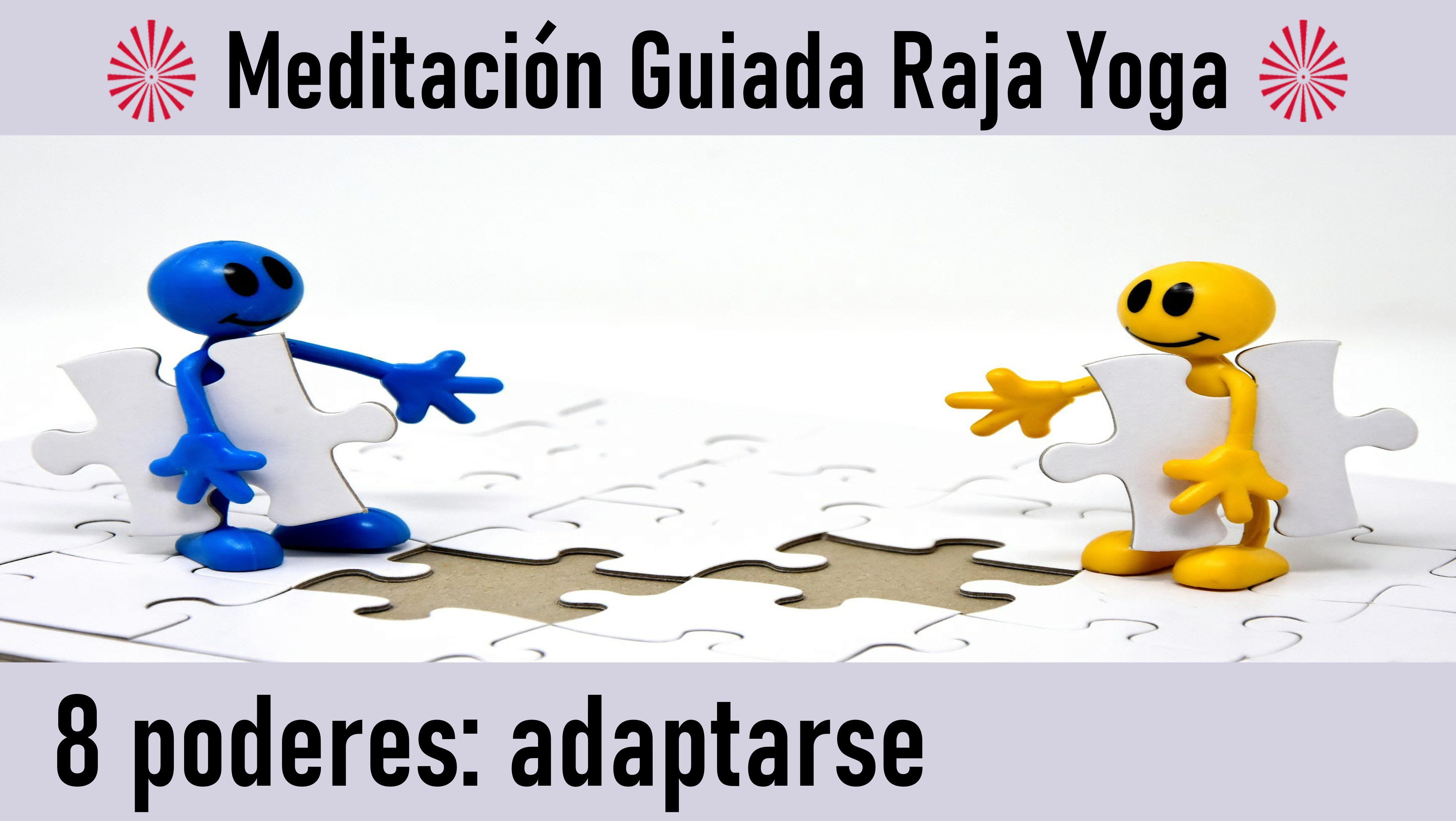 30 Junio 2020 Meditación Guiada: El poder de adaptarse