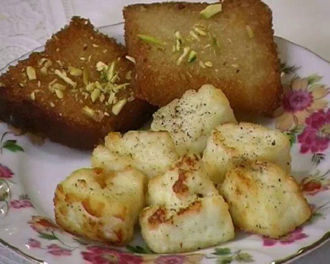 Fried and Alu Paneer