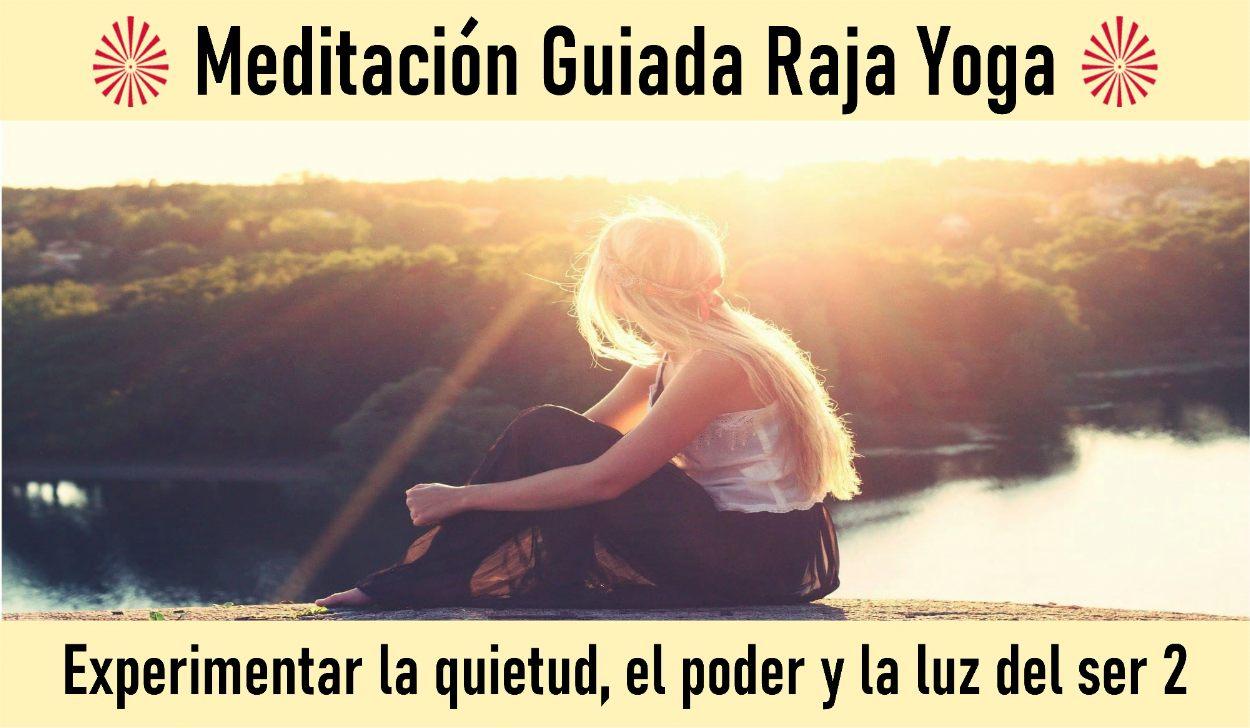1 Mayo 2020  Meditación Guiada: Experimentar la quietud, el poder y la luz