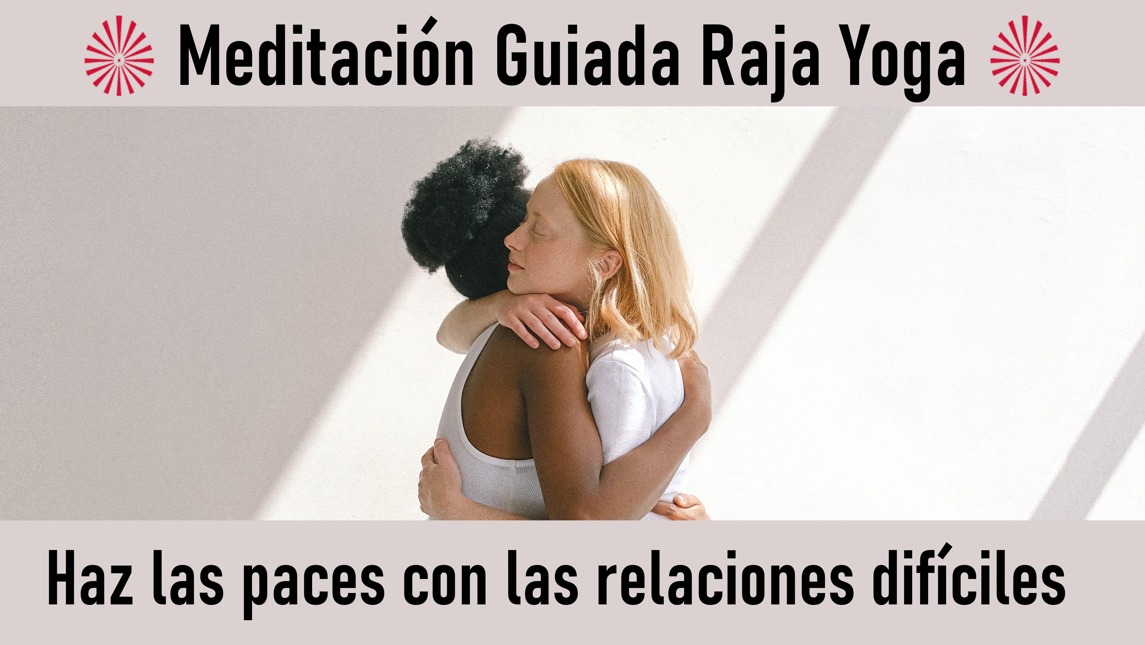 12 Octubre 2020 Meditación guiada: Haz las paces con las relaciones difíciles