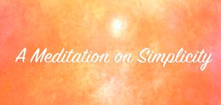A Meditation on Simplicity