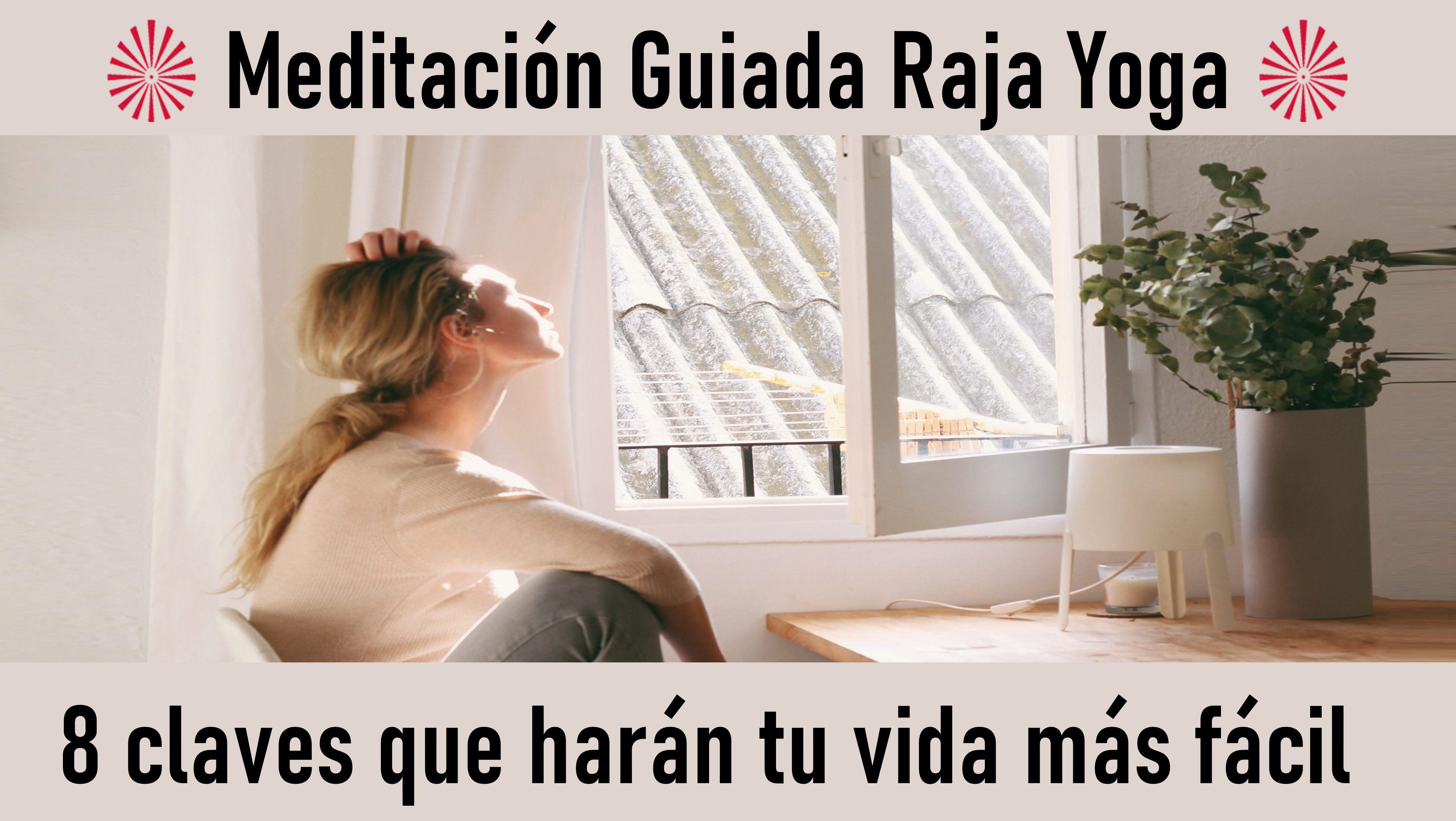 Meditación Raja Yoga: 8 puntos para una vida más feliz (22 Septiembre 2020) On-line desde Canarias