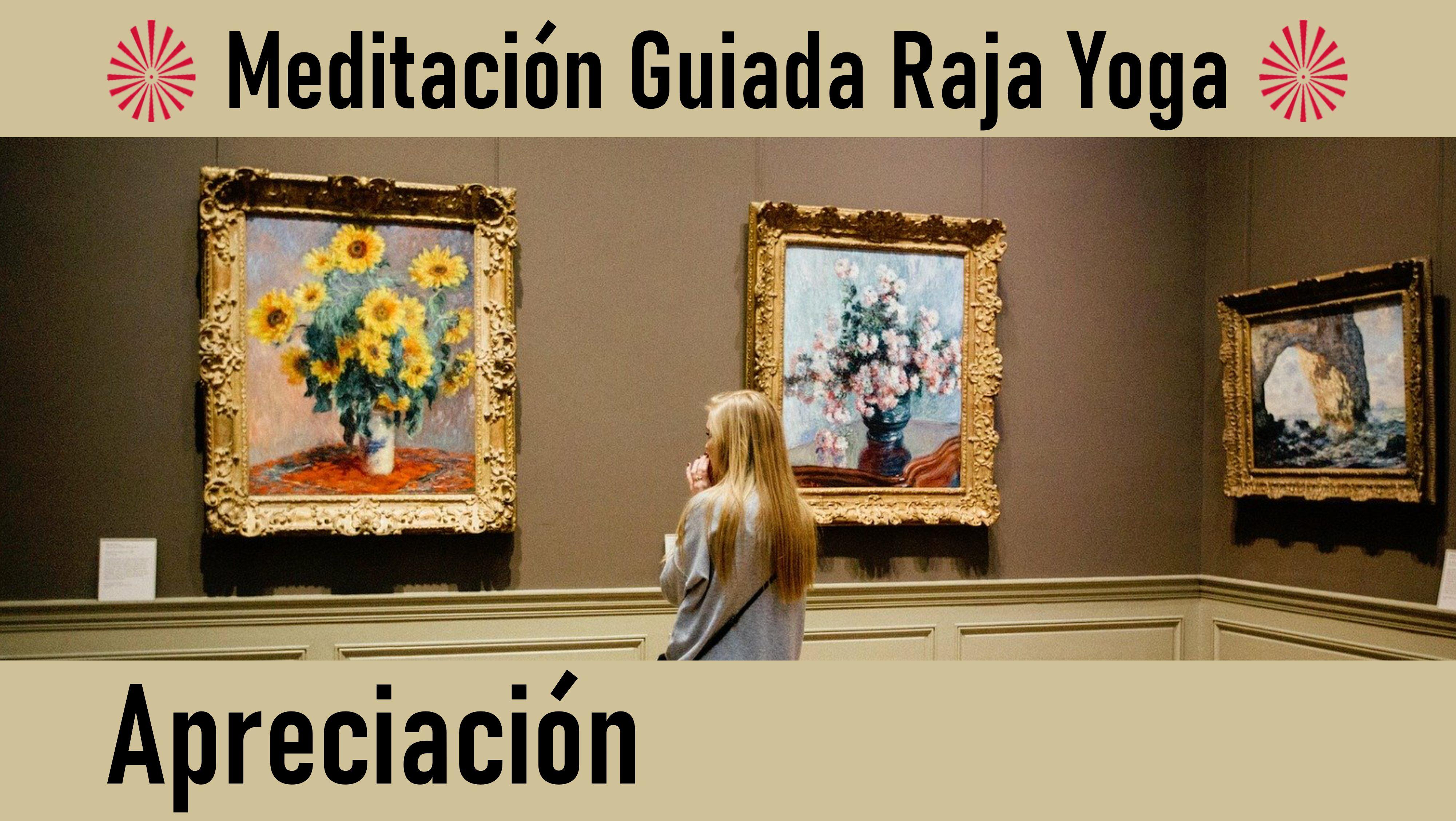 22 Mayo 2020  Meditación Guiada: Apreciación
