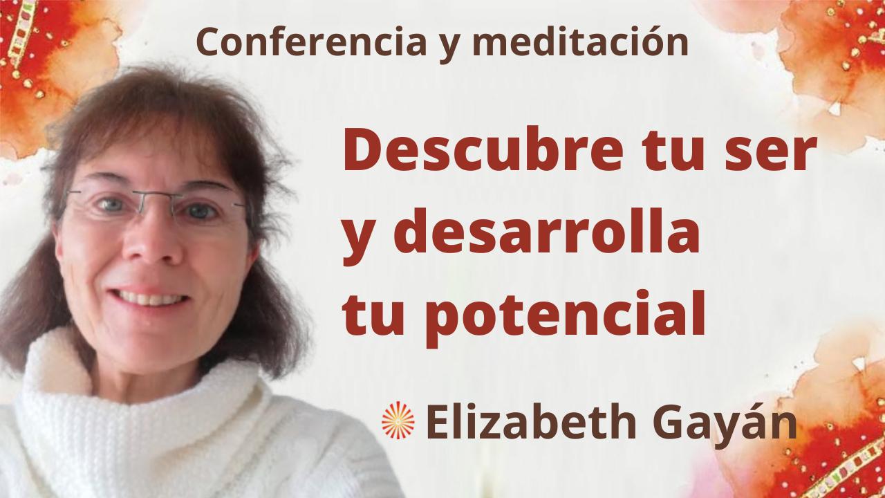 Meditación y conferencia: Descubre tu ser y desarrolla tu potencial (25 Septiembre 2021)