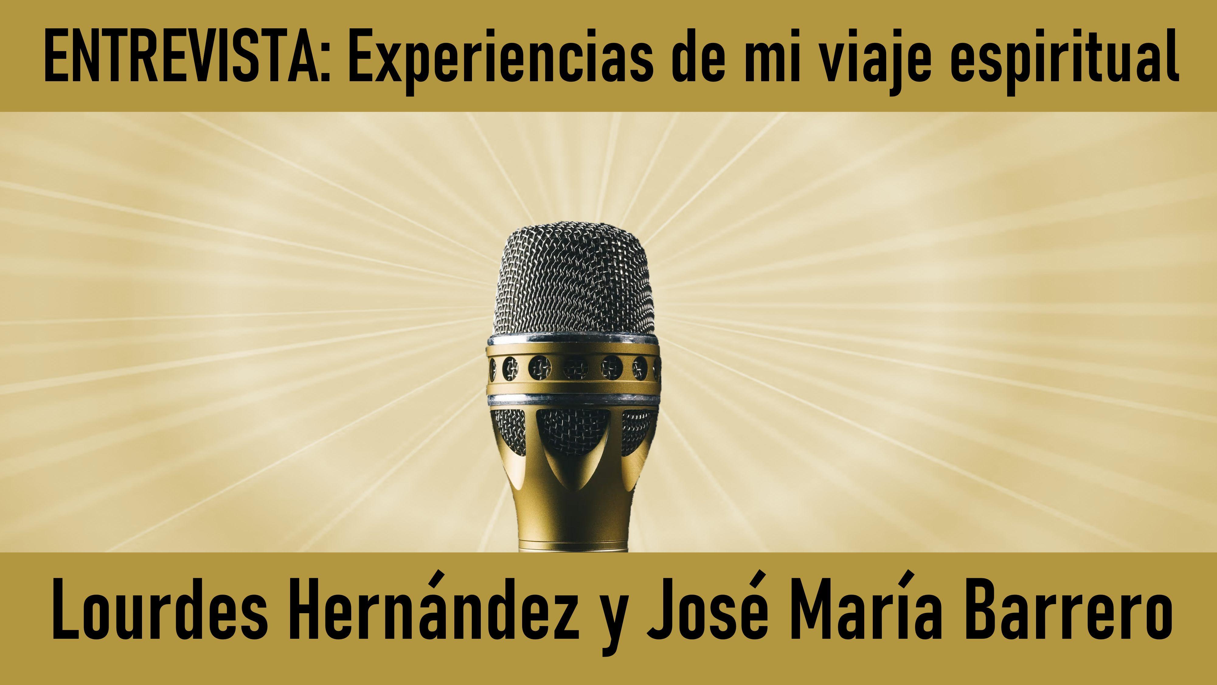 3 Julio 2020 ENTREVISTA de Marta Matarín a Lourdes Hernández y José María Barrero