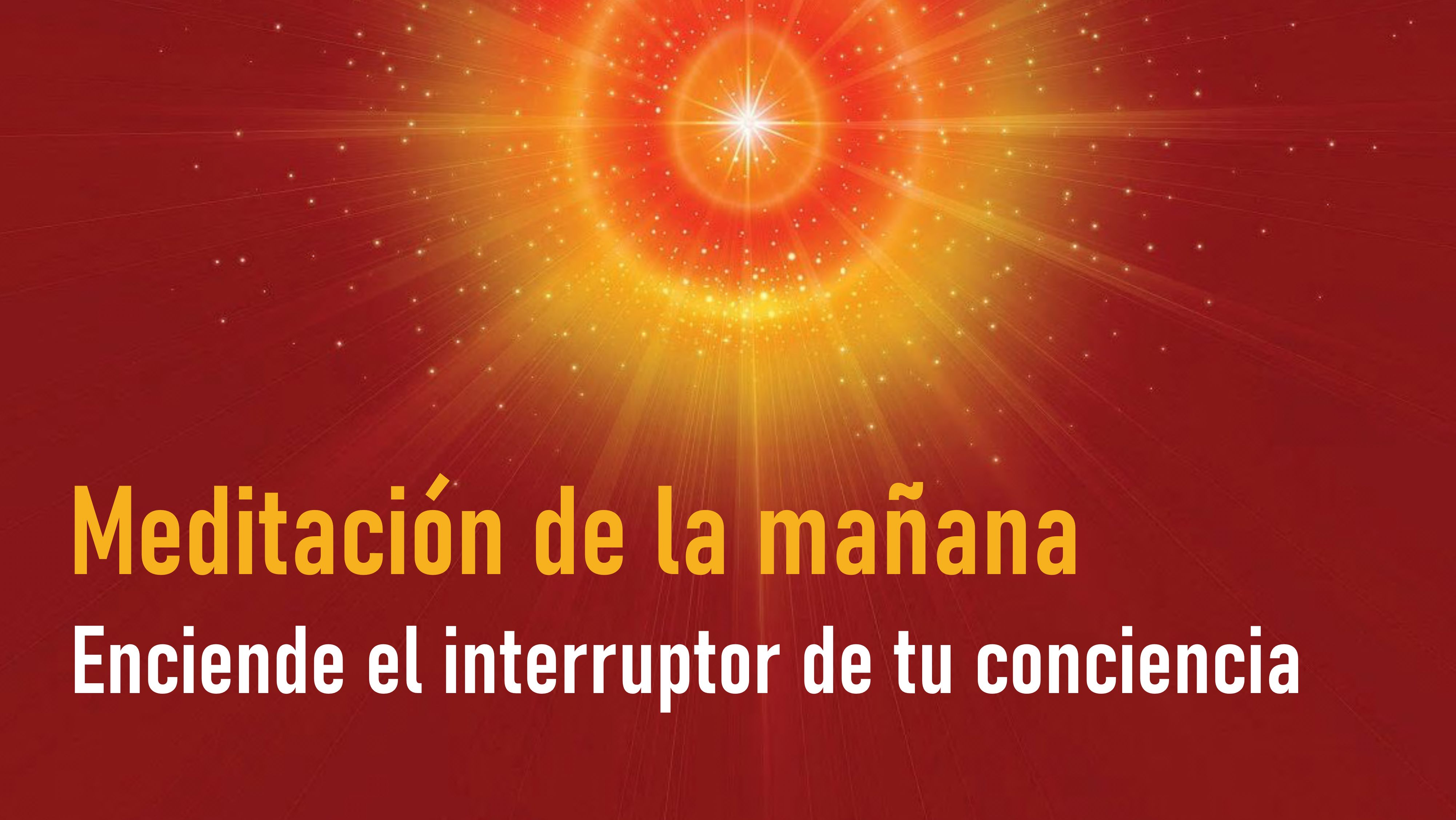 Meditación de la mañana: Enciende el interruptor de tu conciencia (17 Septiembre 2020)