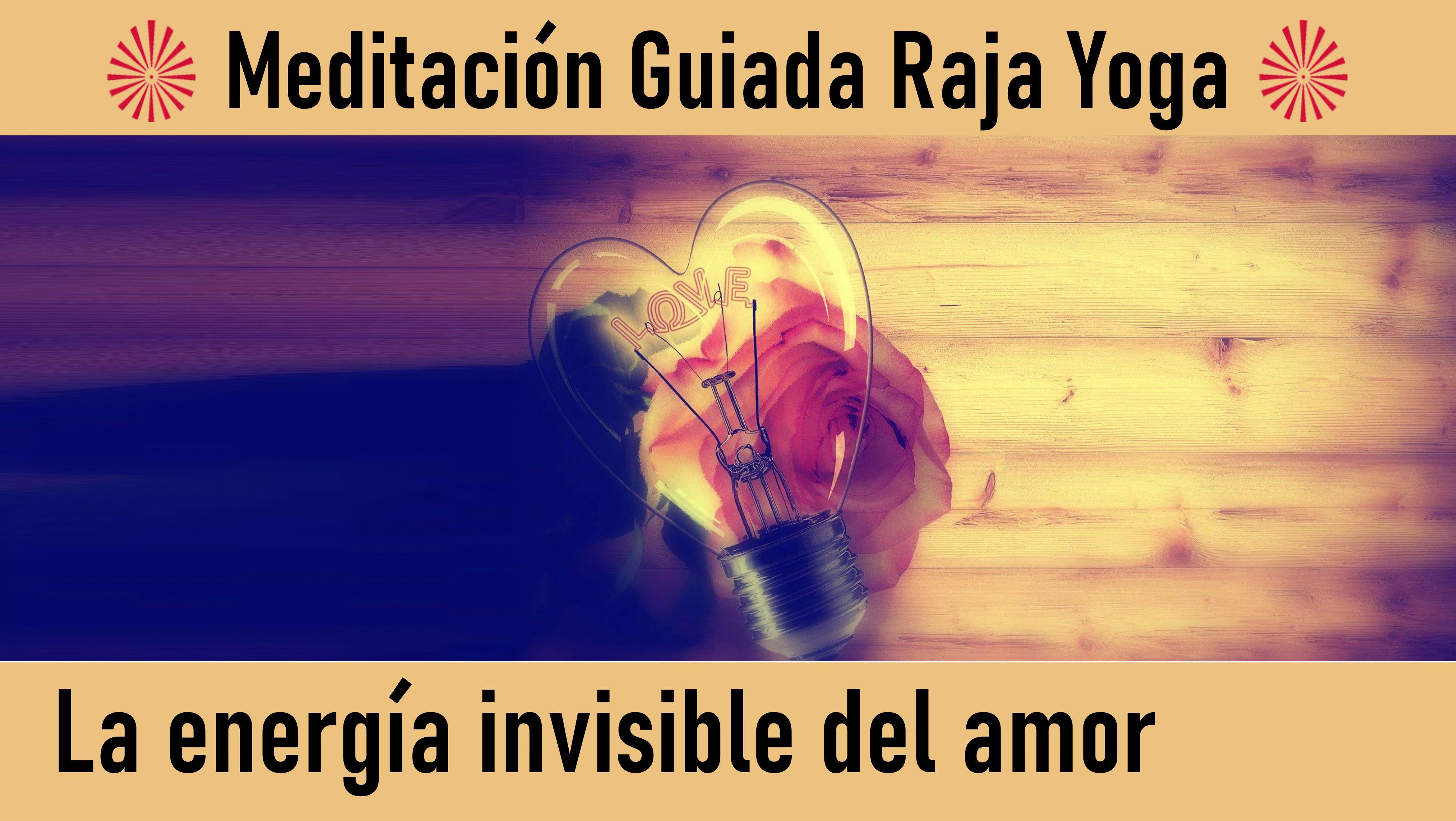 20 Julio 2020 Meditación guiada: La energía invisible del amor