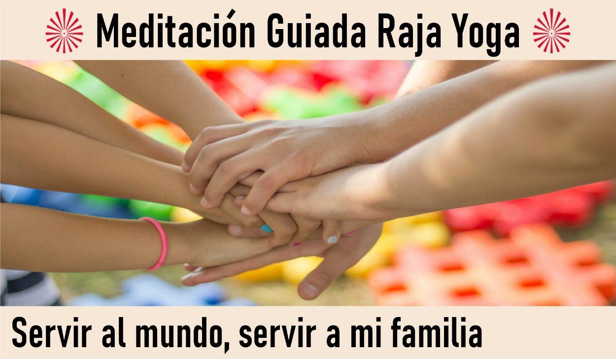 9 Mayo 2020  Meditación Guiada:  Servir al mundo, servir a mi familia
