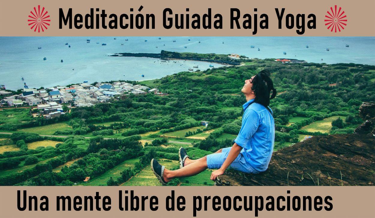 8 Mayo 2020  Meditación  Guiada: Una mente libre de preocupaciones