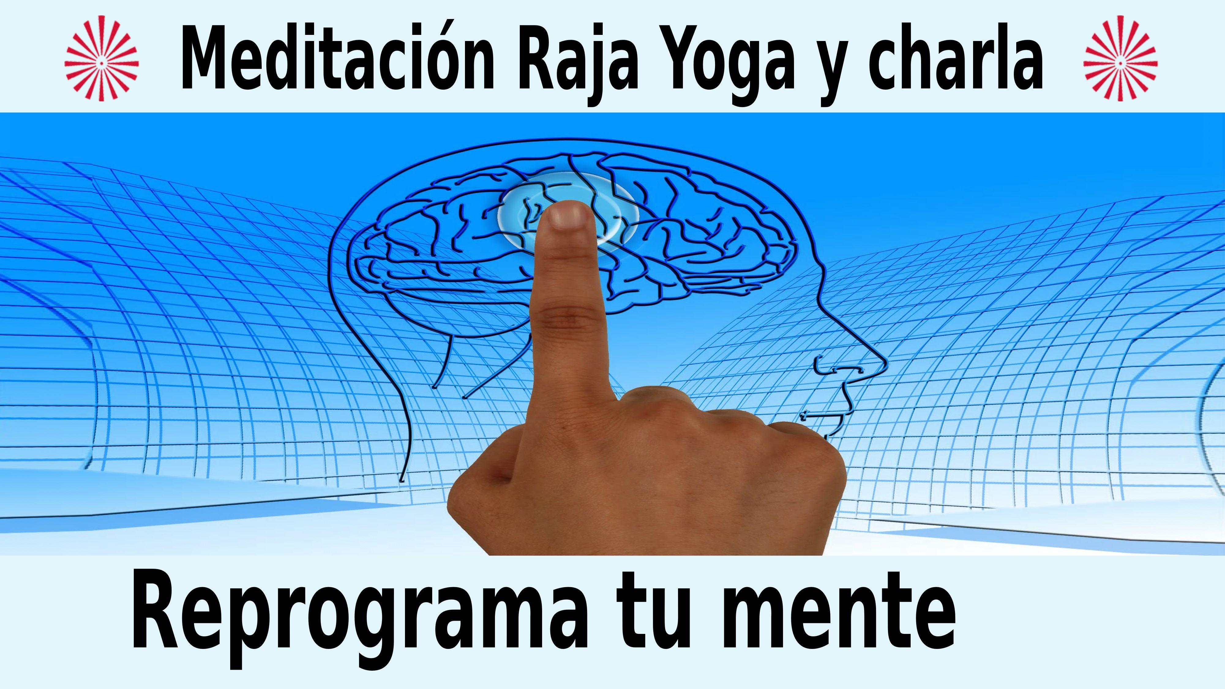 18 Diciembre 2020  Meditación guiada: Reprograma tu mente