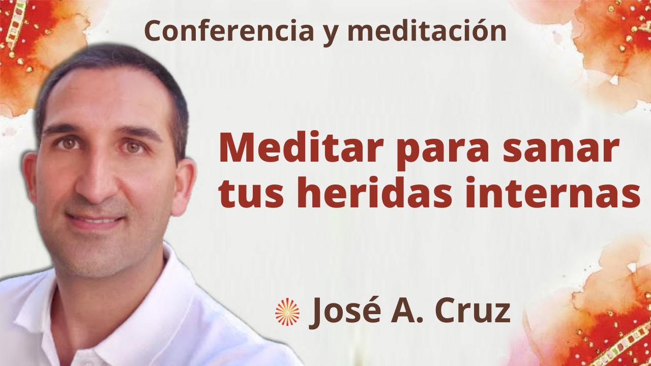 """29 Septiembre 2021 Meditación y conferencia: """"Meditar para sanar sus heridas internas"""""""