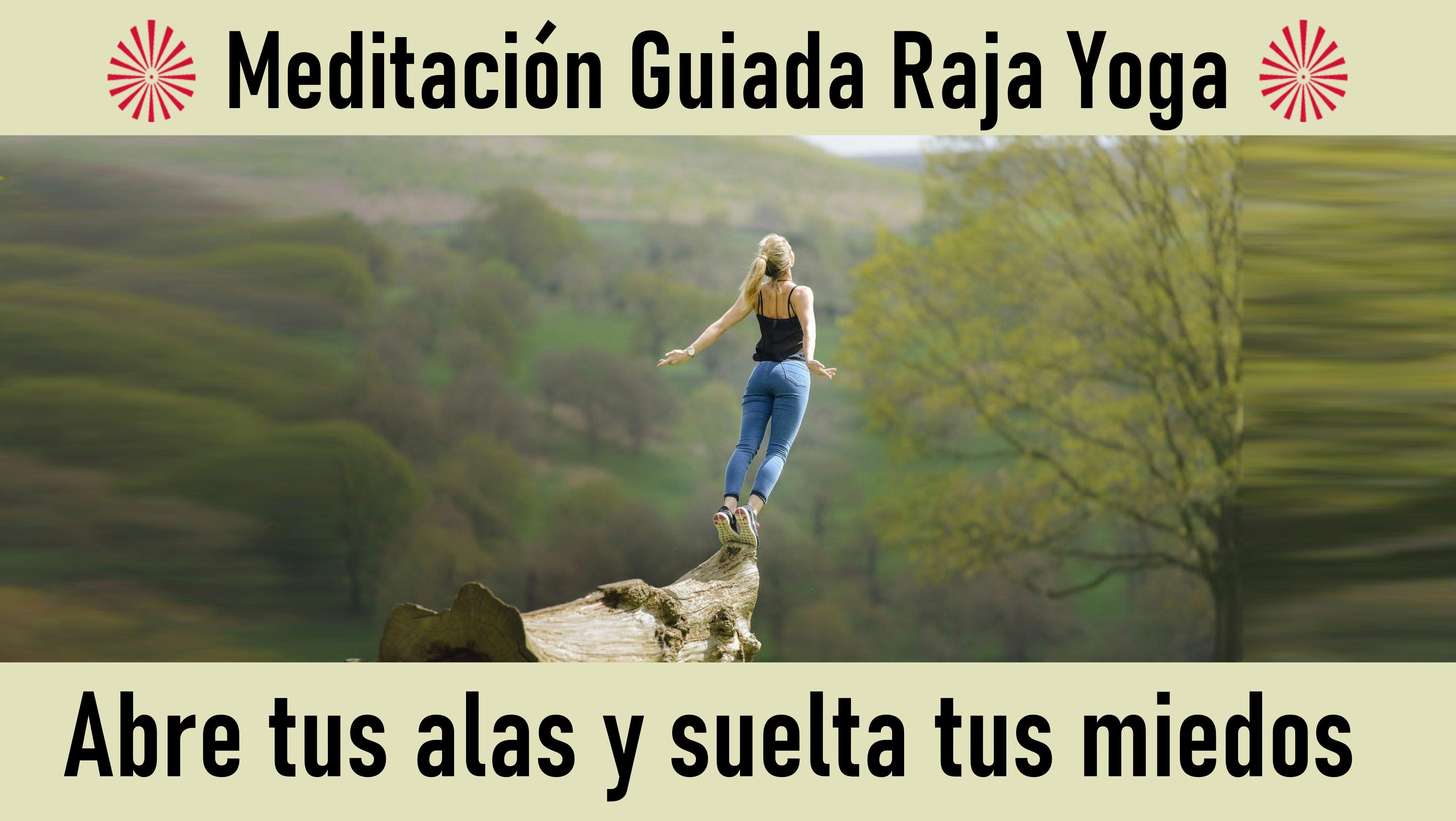 Meditación Raja Yoga: Abre tus alas y suelta tus miedos (26 Octubre 2020) On-line desde Madrid