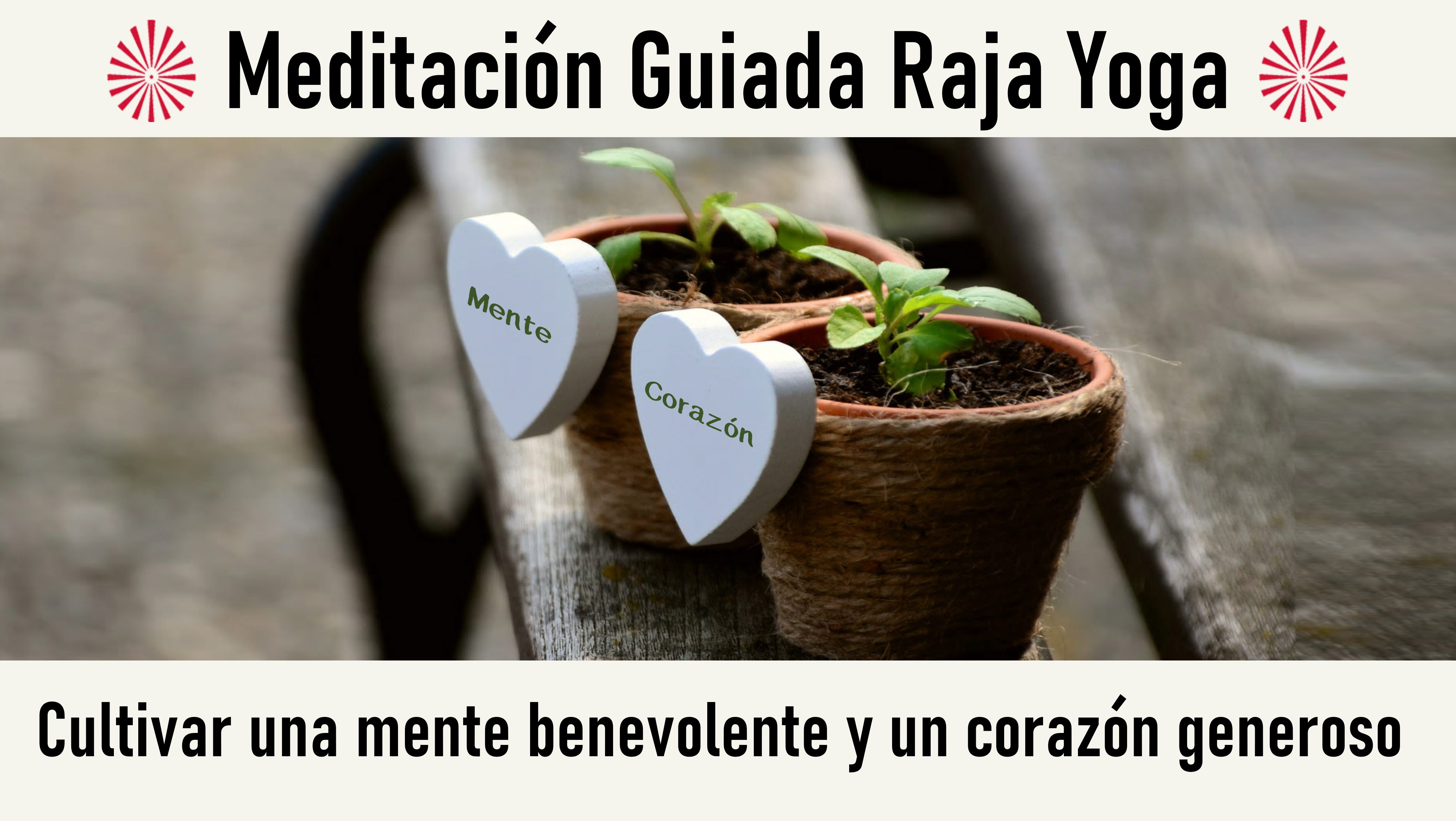 11 Junio 2020 Meditación Guiada: Cultivar una mente benevolente y un corazón generoso
