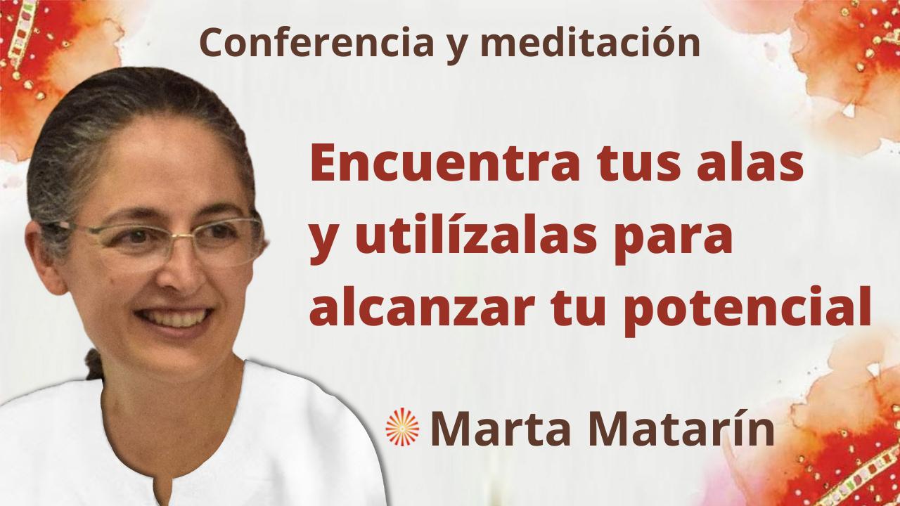 """7 Octubre 2021 Meditación y conferencia: """"Encuentra tus alas y utilízalas para alcanzar tu potencial"""""""