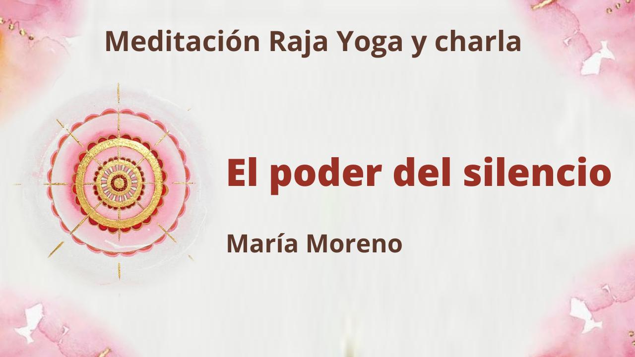 10 Enero 2021  Meditación Raja Yoga y charla: El poder del silencio