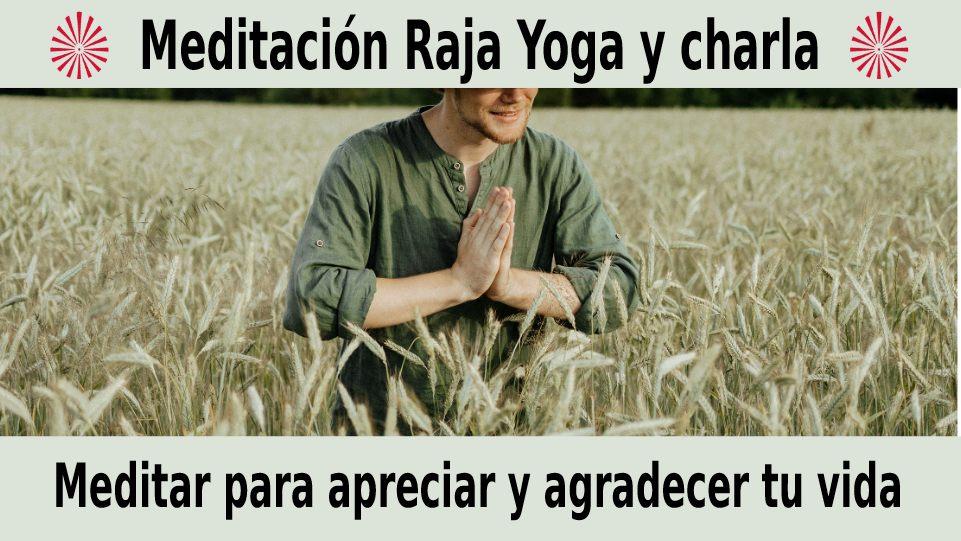 16 Diciembre 2020  Meditación guiada: Meditar para apreciar y agradecer tu vida