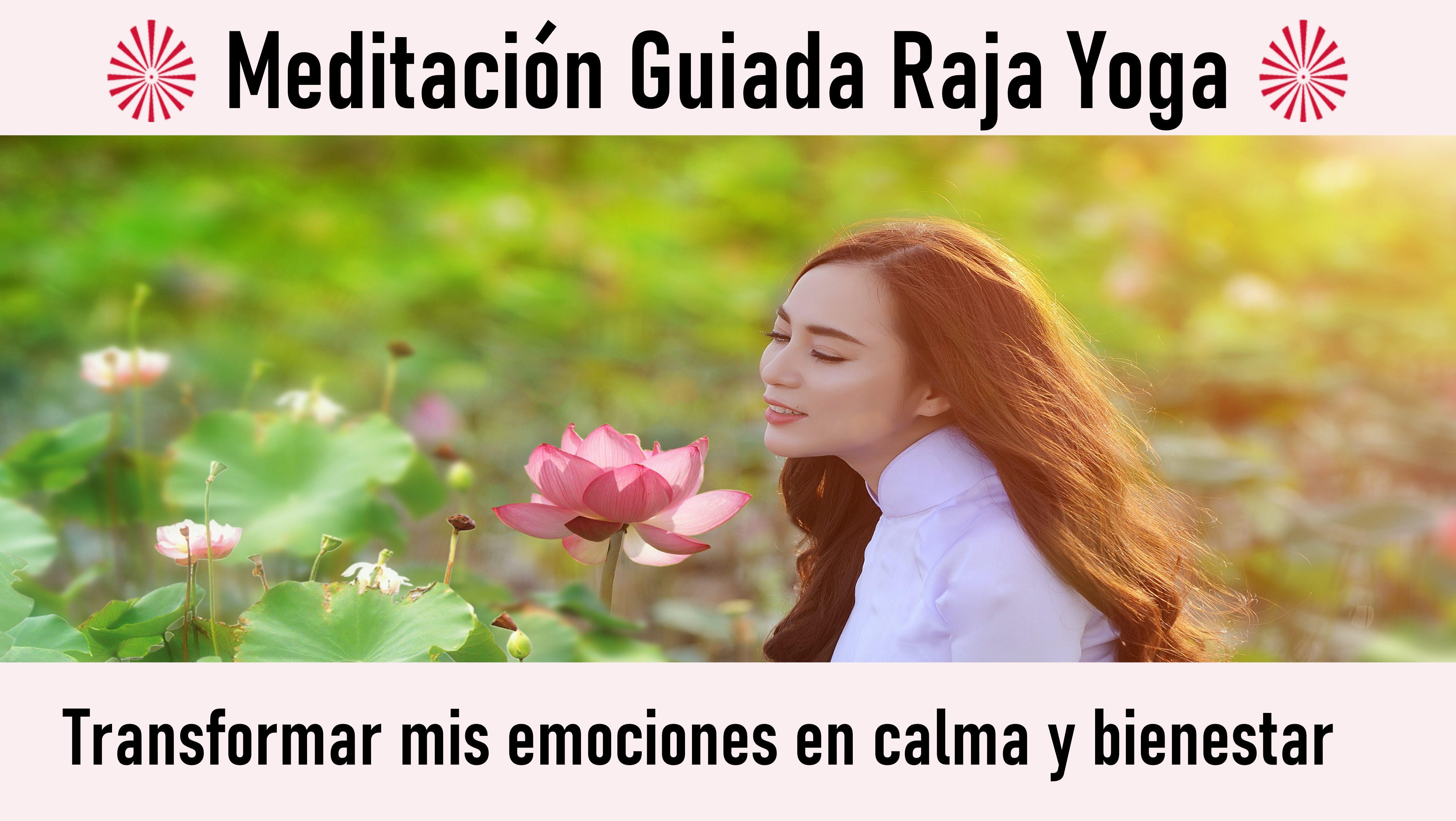 Meditación Raja Yoga: Transformar mis emociones en calma y bienestar (22 Septiembre 2020) On-line desde Barcelona