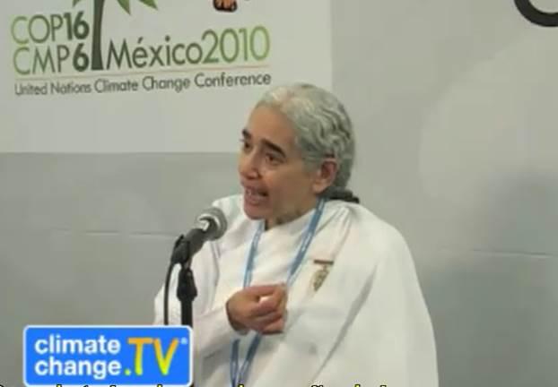 Meio Ambiente - Sister Jayanti - COP 16