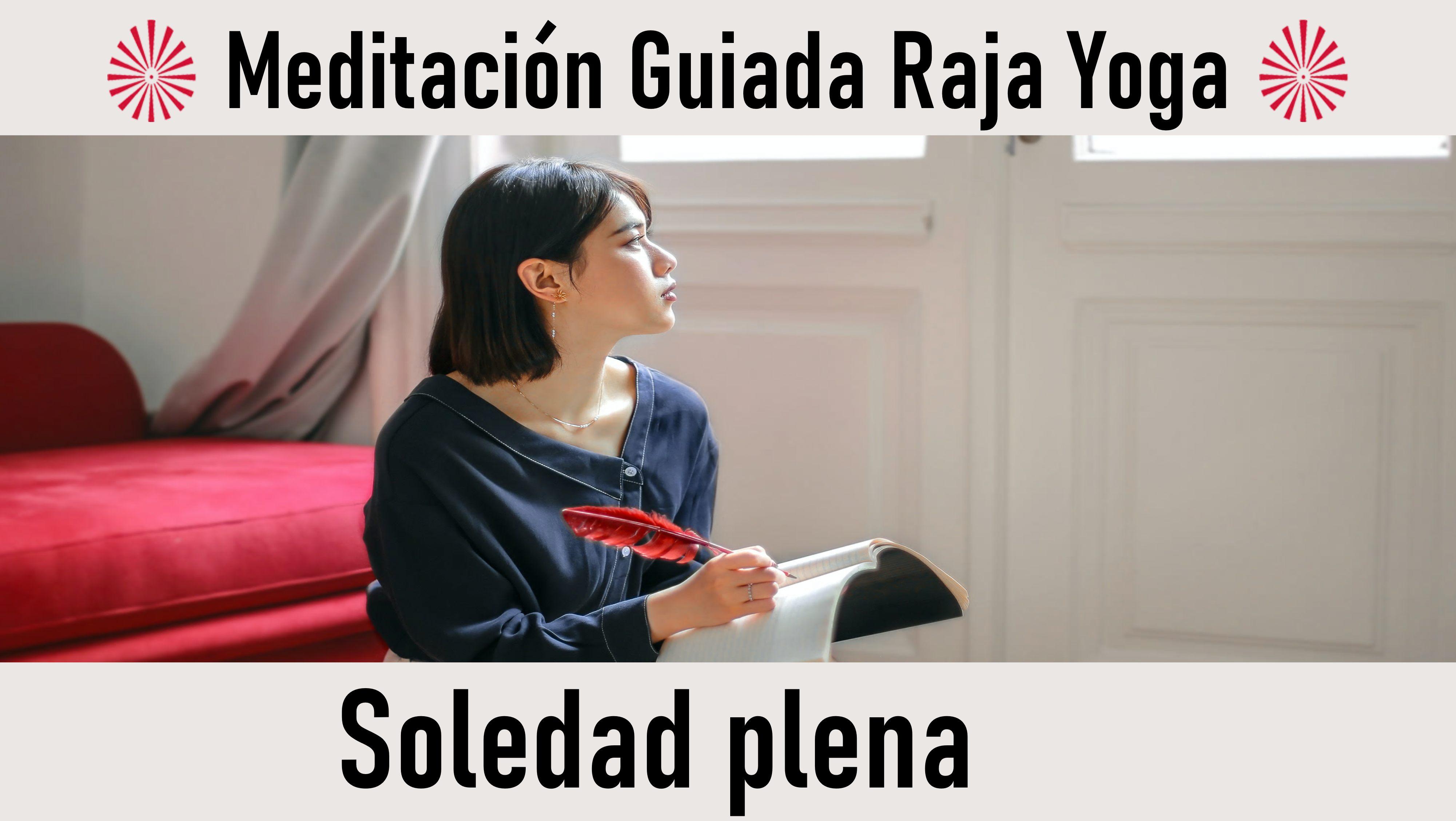28 Septiembre 2020 Meditación guiada: Soledad plena
