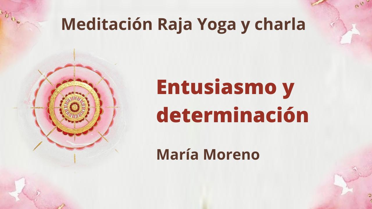 3 Enero 2021 Meditación Raja Yoga y charla: Entusiasmo y determinación