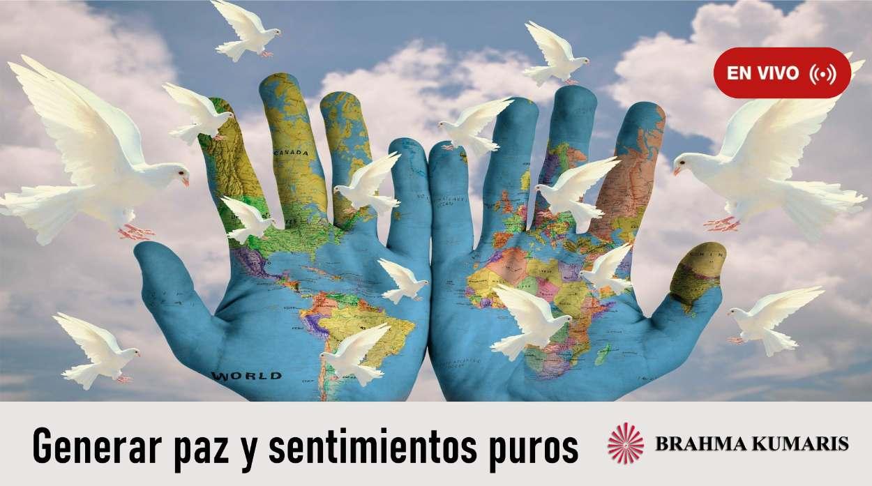 19 Abril 2020-Domingo por la Paz: Generar Paz y Sentimientos Puros