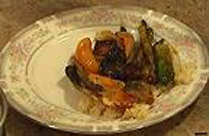 Cooking with Brad: Vegetable Shish Kebab