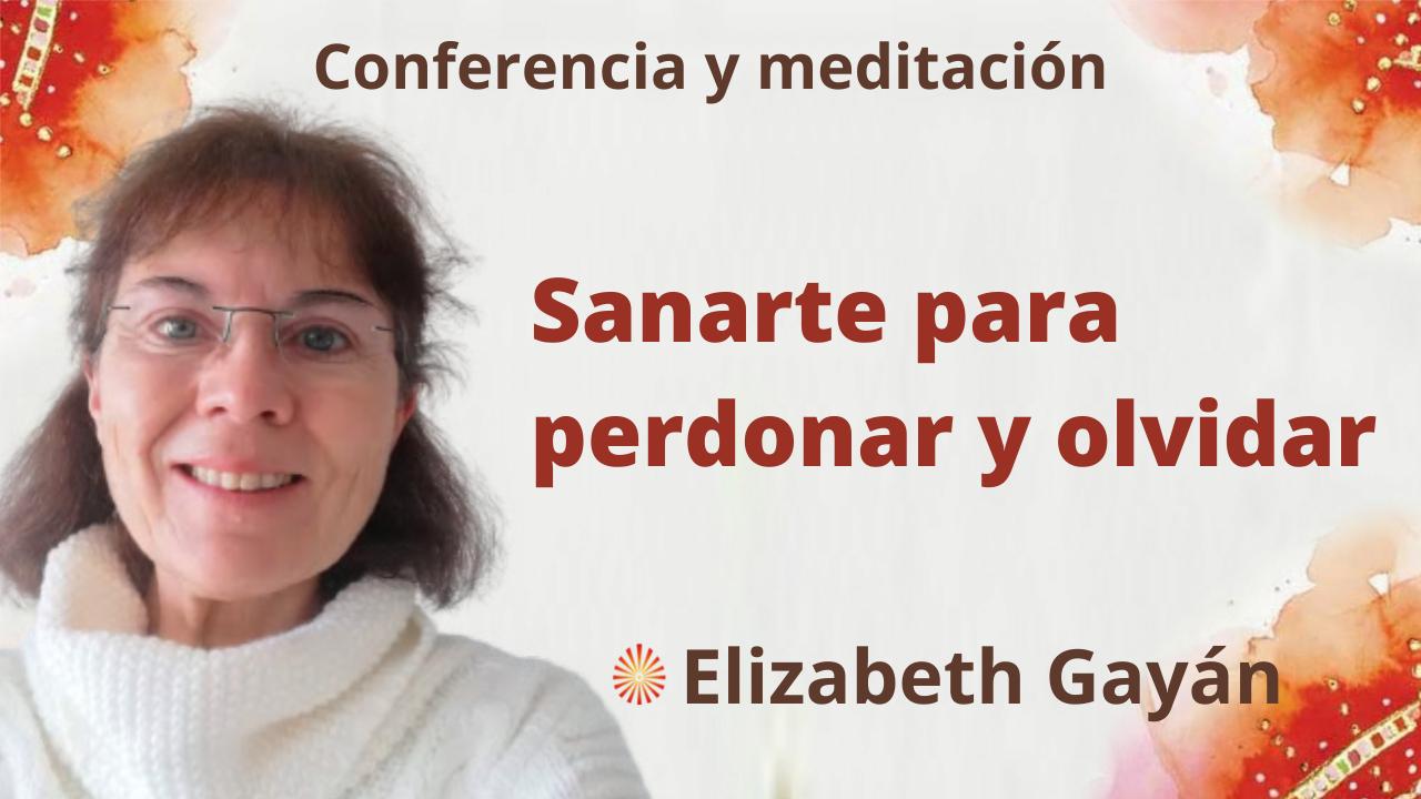 11 Septiembre 2021  Meditación y conferencia Sanarte para perdonar y olvidar