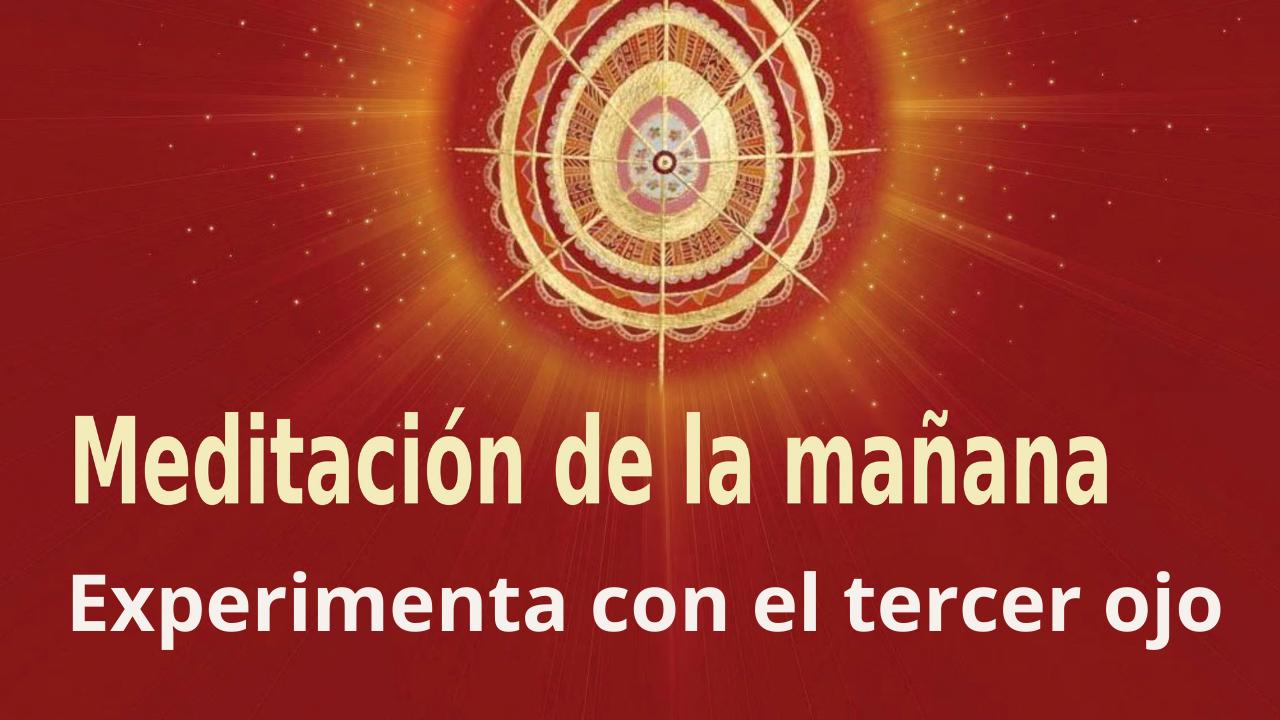 Meditación Raja Yoga de la mañana: Experimenta con el tercer ojo (19 Abril 2021)